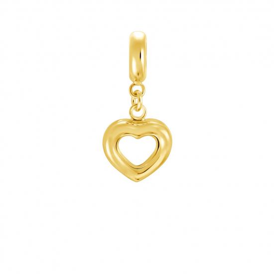 Citigems 916 Gold Pure Heart Charm