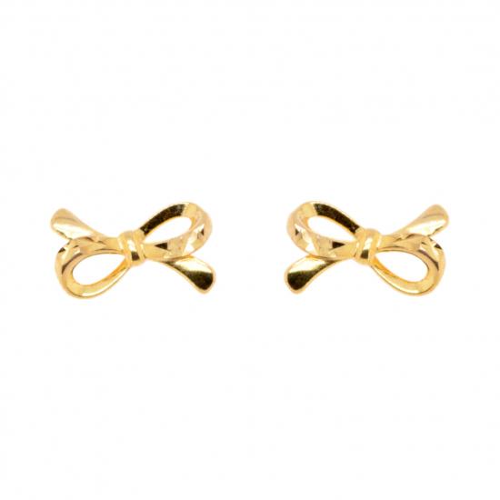 Citigems 916 Golden Ribbon Earrings