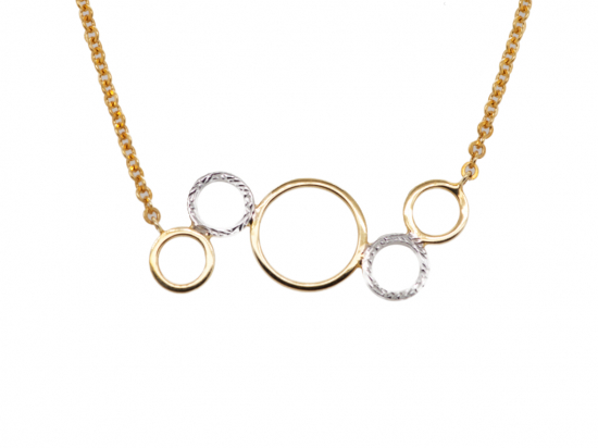 Citigems 916 Perfect Circles Necklace (*MIP)