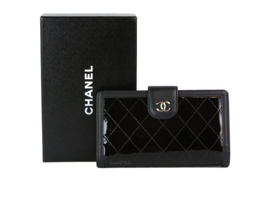 Pre-Loved Chanel Patent Leather Wallet