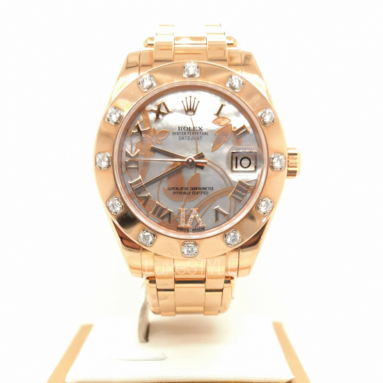 Pre-Loved Rolex Pearlmaster Rose Gold 81315