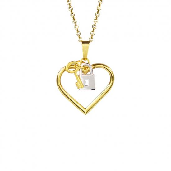 Citigems 916 Love Lock Pendant