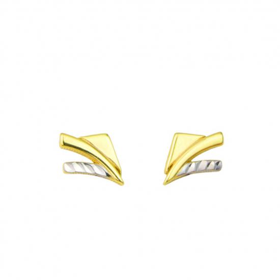 Citigems 916 Gold Sparkles Earrings