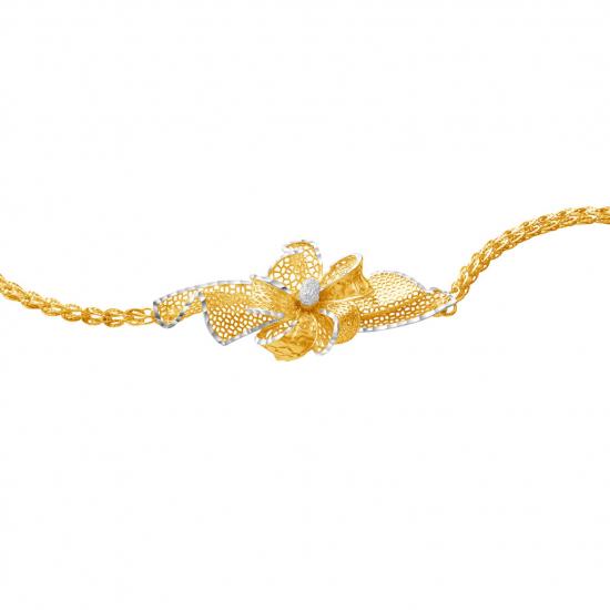 Citigems 916 Floral Bracelet