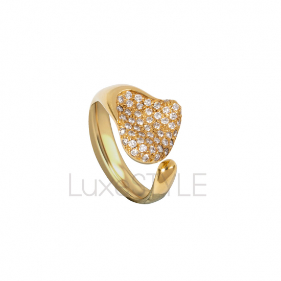 Pre-Loved Tiffany & Co. Peretti 18k Yellow Gold Diamond Ring