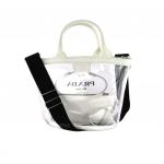 Prada Plexiglass Tote Bag with Sling