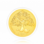 Citigems 999 Pure Gold 0.2g Tree Of Wealth Golden Treasure