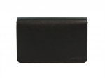 Prada Saffiano Leather Fold Over Black Sling Bag (Pristine)