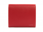 Prada Saffiano Leather Small Red Wallet