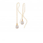 Citigems 18K Rose Gold Pearl Earrings
