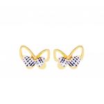 Citigems 916 Butterfly Earrings