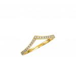 Citigems 18K Yellow Gold Diamond Ring