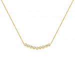 Citigems 18K Gold Diamond Necklace