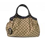 Pre-Loved Gucci Sukey 211944 Medium
