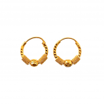 Citigems 916 Arcelia Hoop Earrings