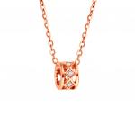 Citigems 18K Elistar Diamond Necklace