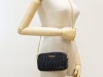 Miu Miu Matelasse Leather Black Belt Bag / Sling Bag (Unused)