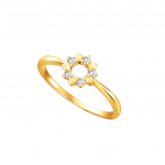Citigems 18K Elistar Diamond Ring