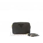 Prada Saffiano Leather Black Crossbody Bag