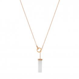 Citigems 18K Rose Gold Aurae Nephrite Jade Necklace