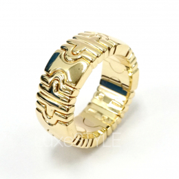 Pre-Loved Bvlgari Parentesi 18K Yellow Gold Ring