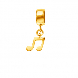 Citigems 916 Gold Music Note Charm