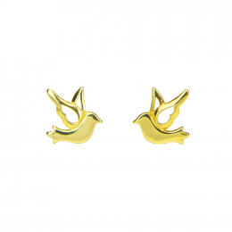Citigems 916 Gold Dove Earrings