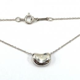 Pre-Loved Tiffany & Co. Elsa Peretti Bean Silver Necklace