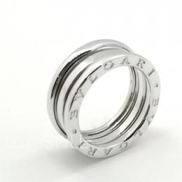 Pre-Loved Bvlgari B.Zero1 3 Band 18K White Gold Ring