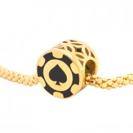 Citigems 916 Gold Ace of Spades Charm / Pendant