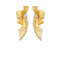 Citigems 916 Floral Earrings