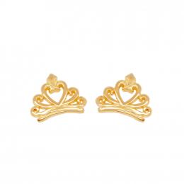 Citigems 916 Crown Earrings