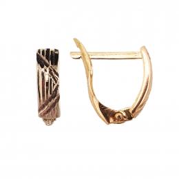 Citigems 916 Elegant Hoop Earrings