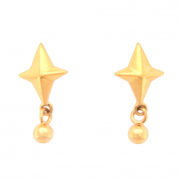 Citigems 916 Radiant Star Earrings
