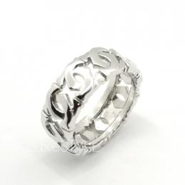 Pre-Loved Cartier C De Cartier 18K White Gold Ring