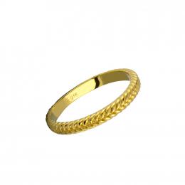 Citigems 916 Minimalist Greek Stackable Ring