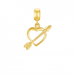 Citigems 916 Cupid Heart Charm