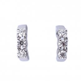 Citigems Perfect Love 18K Diamond Earrings