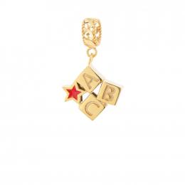 Citigems 916 Gold Box Toy Charm