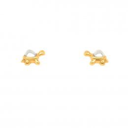 Citigems 916 Gold Tortoise Earrings