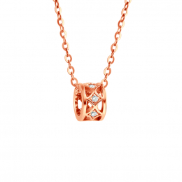Citigems 18K Elistar Diamond Necklace