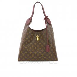 Preloved Louis Vuitton Flower Hobo Standard