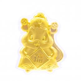Citigems Citi-Mouse Fortune Gold Coin