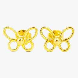 Citigems 916 Butterfly Earrings
