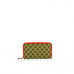 Gucci Zip Around Long Wallet (Preloved)