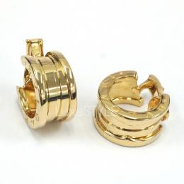 Pre-Loved Bvlgari B.Zero1 18K Yellow Gold Hoop Earrings