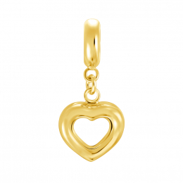 Citigems 916 Gold Pure Heart Charm