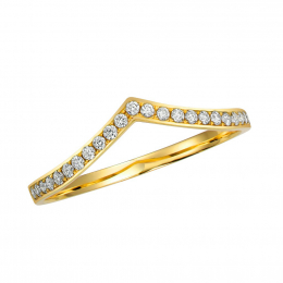 Citigems 18K Yellow Gold Seoul Style Ring 94908