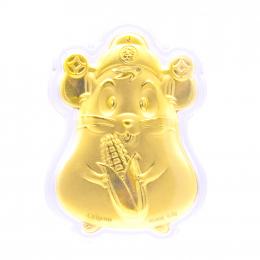 Citigems Citi-Mouse Prosperity Gold Coin