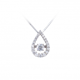 Citigems Silver Dancing Dewdrop pendant by Maxi Cash
